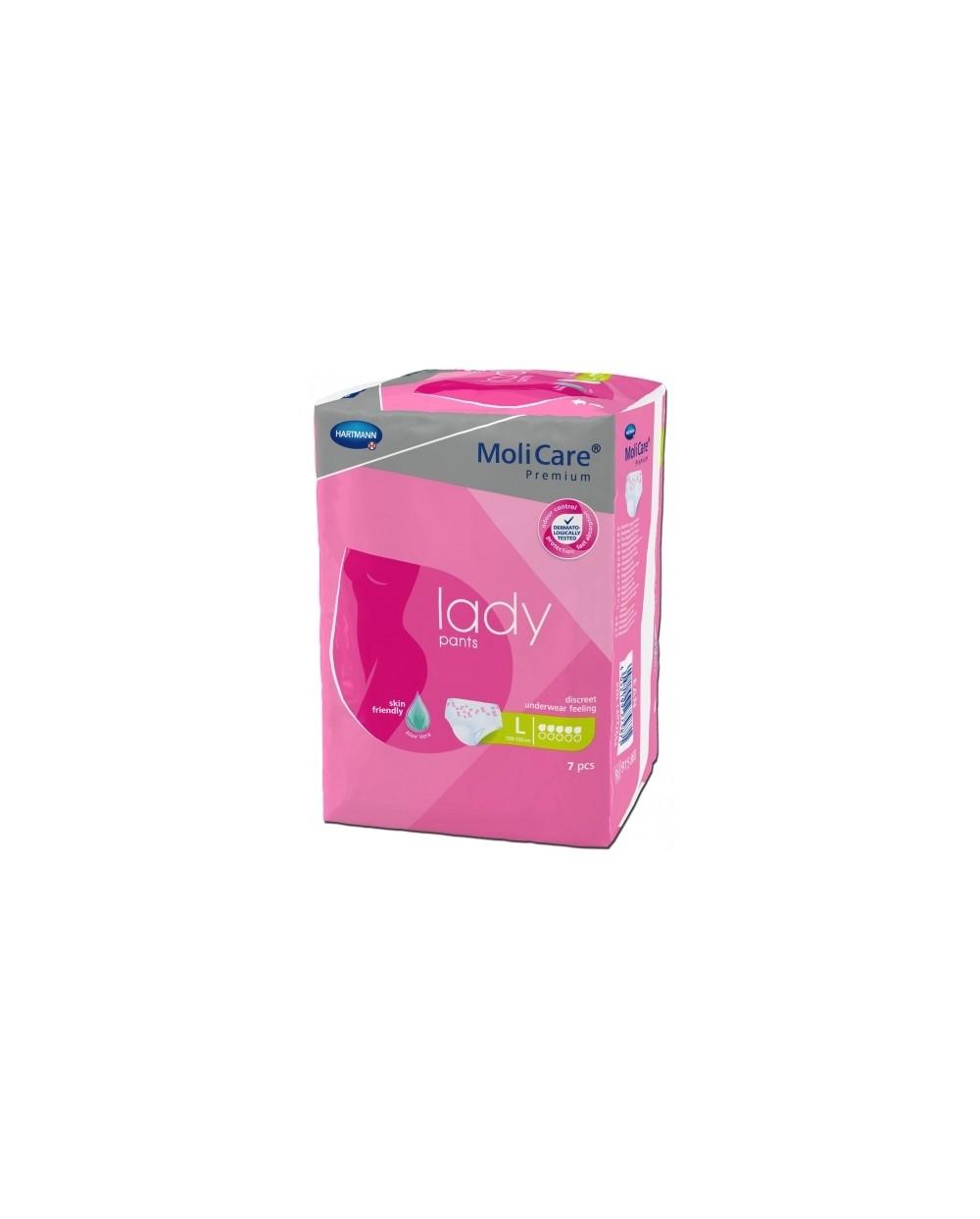 Hartmann Molicare Premium Lady Pants 5 gouttes Large - 7 protections
