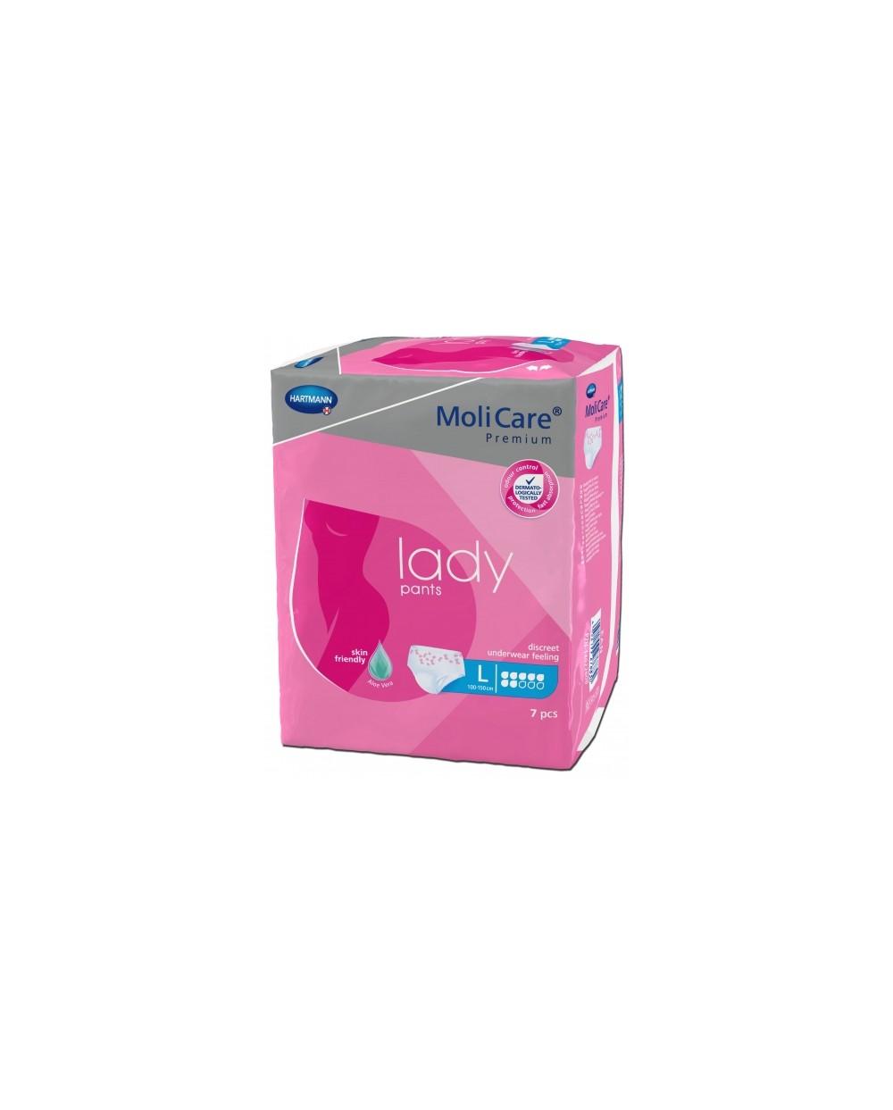 Hartmann Molicare Premium Lady Pants 7 gouttes Large - 7 protections