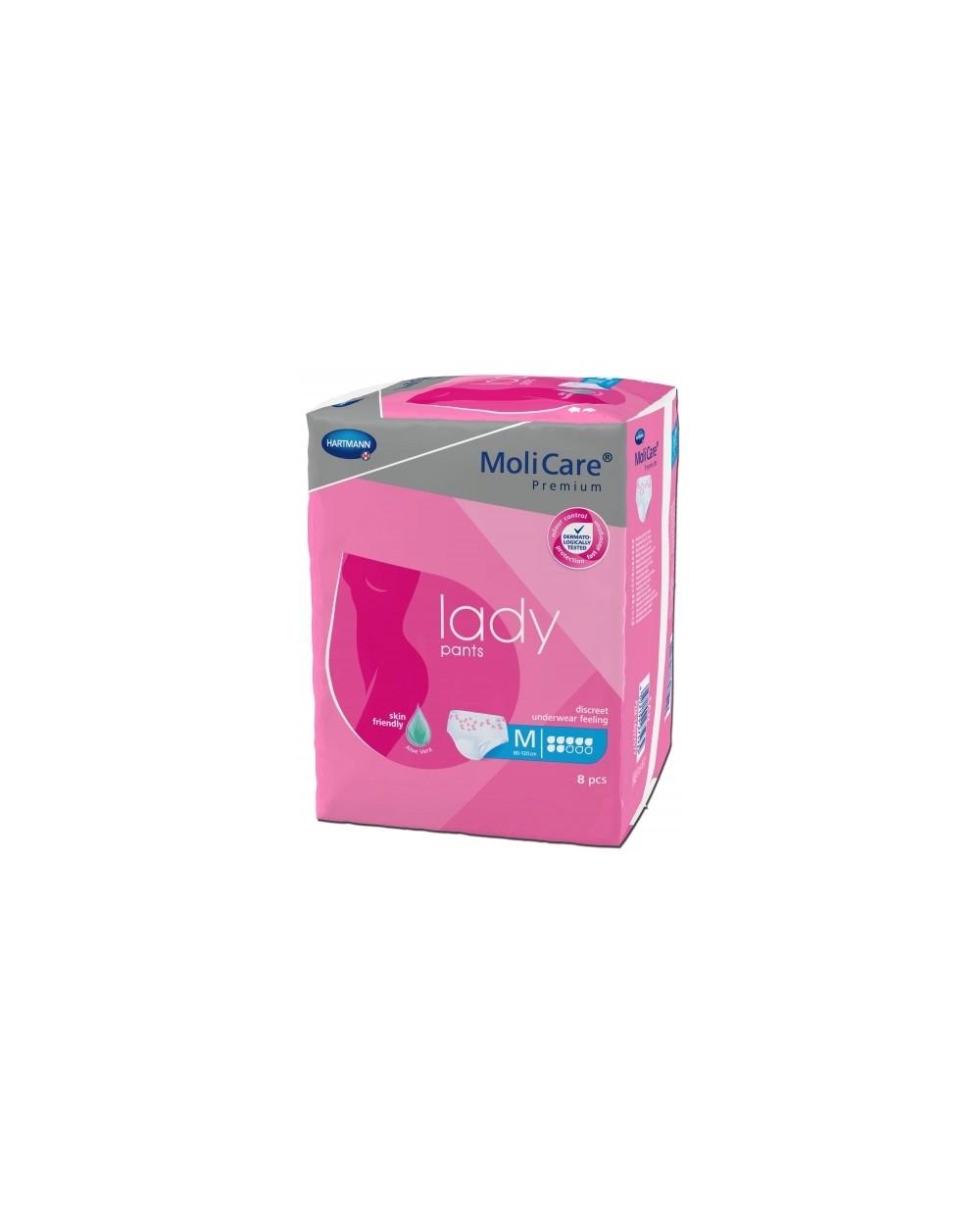 Hartmann Molicare Premium Lady Pants 7 gouttes Medium - 8 protections