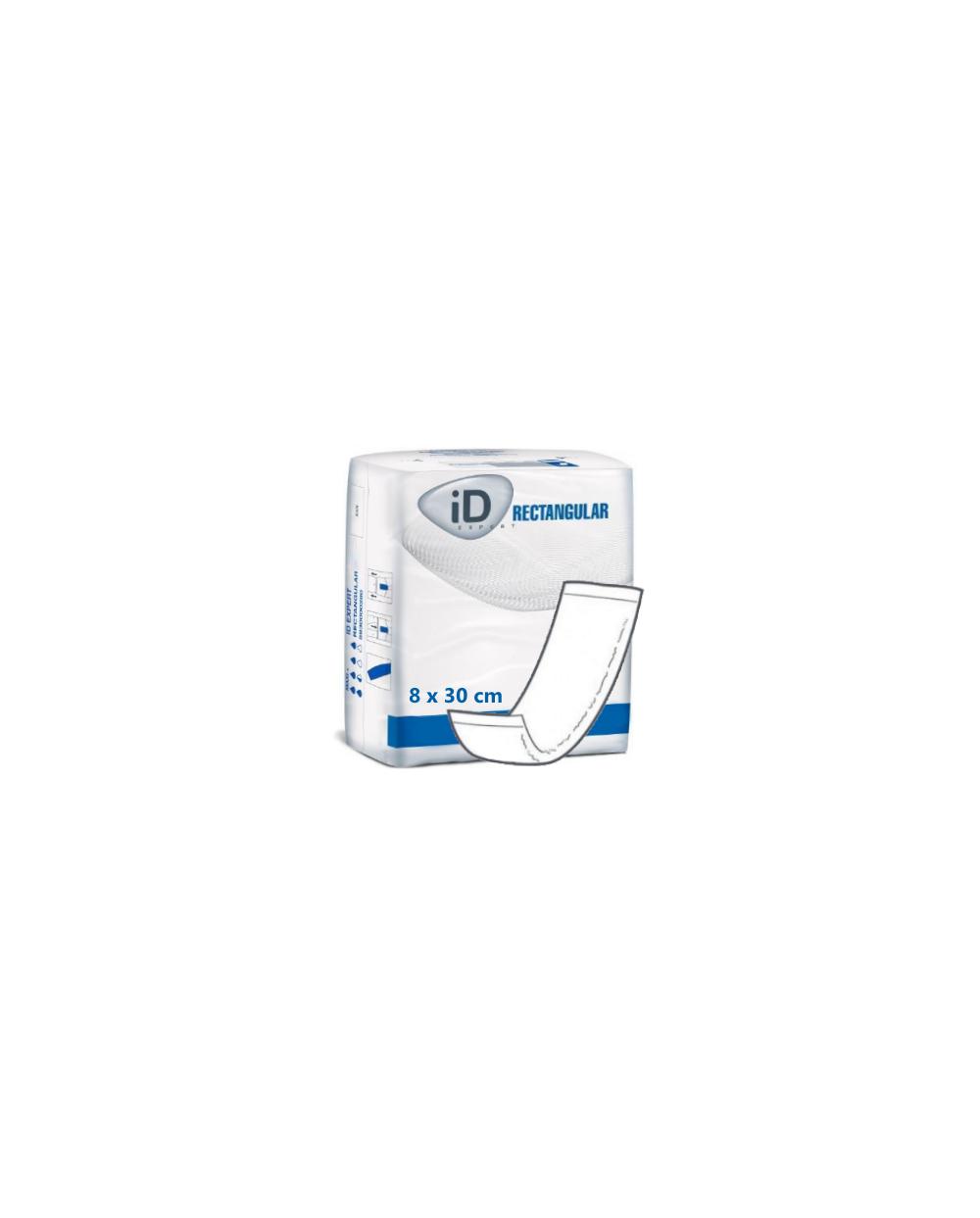 ID Expert Rectangular Intraversable PE 8 x 30 cm - 12 protections