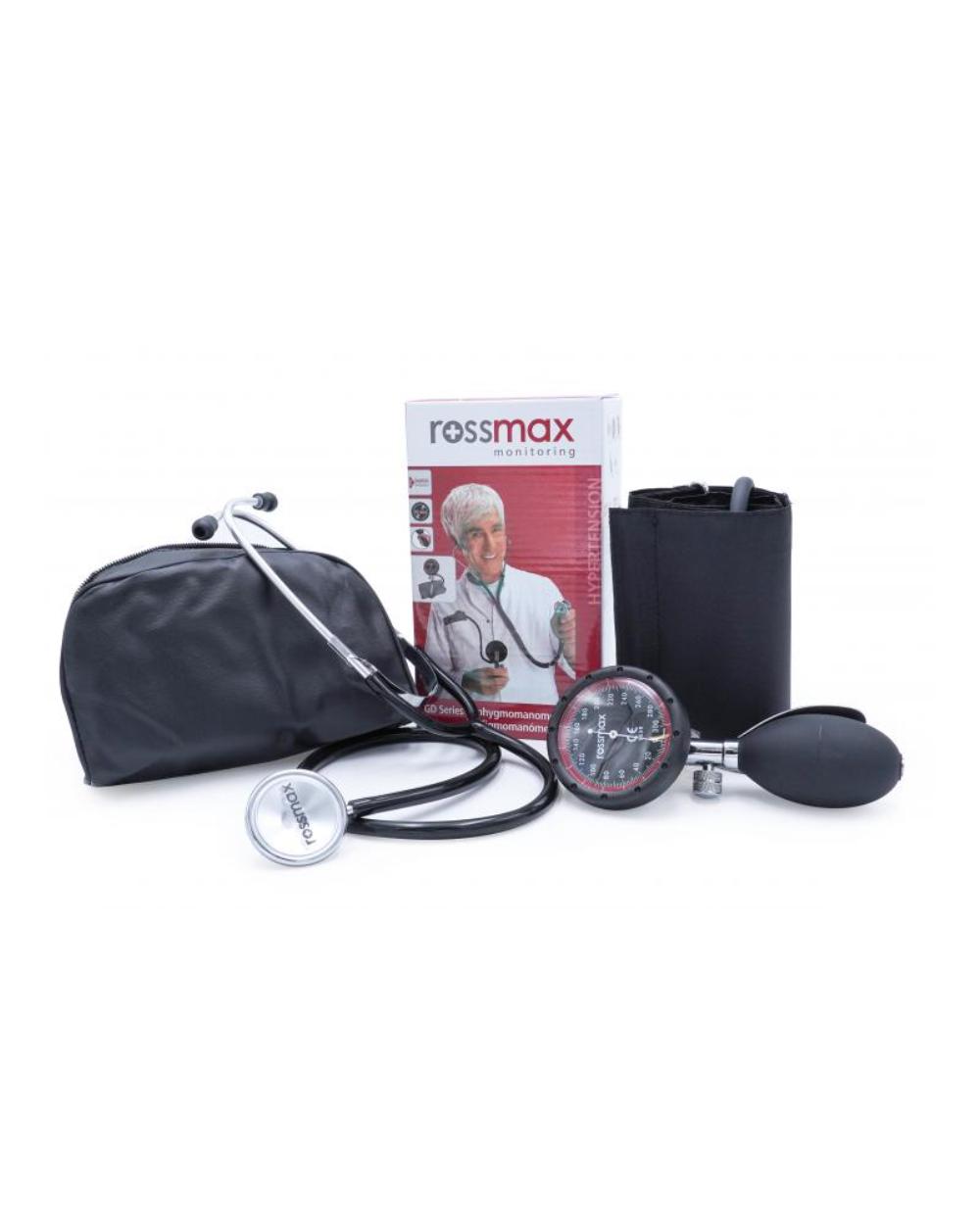 Tensiomètre ROSSMAX avec cuillère + stéthoscope gratuit www.vivamedical.be