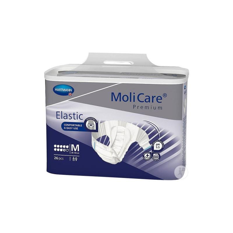 Molicare Premium Elastic Medium 9 gouttes www.vivamedical.be