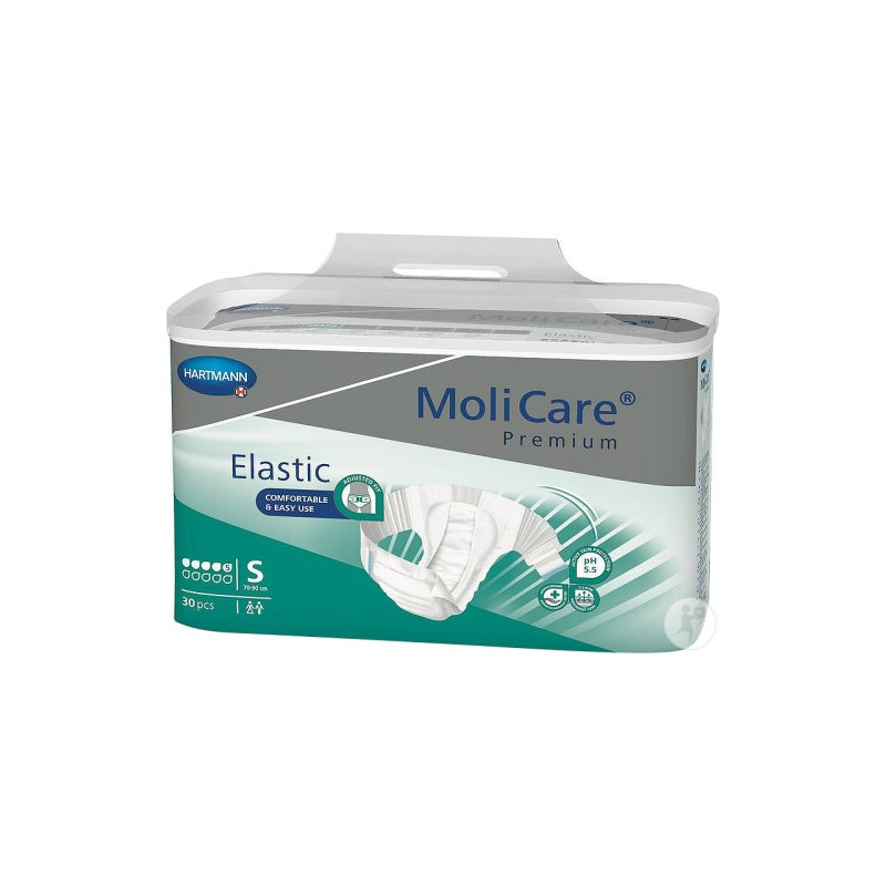 Molicare Premium Elastic taille Small 5 gouttes www.vivamedical.be