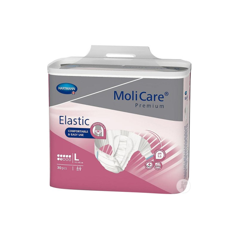Molicare Premium Slip Elastic Large 7 gouttes www.vivamedical.be