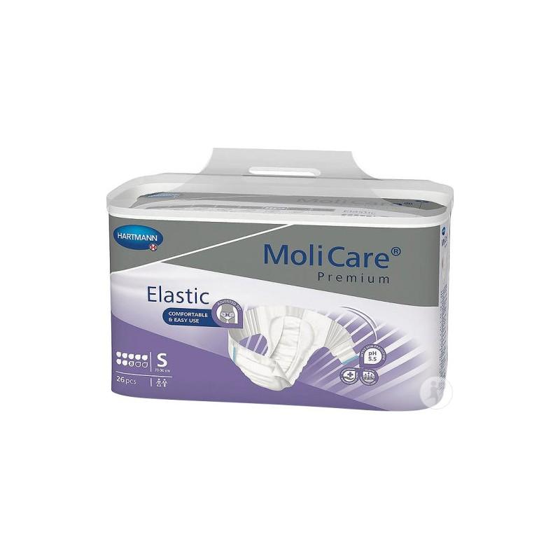 Molicare Premium Slip Elastic Small 8 gouttes www.vivamedical.be