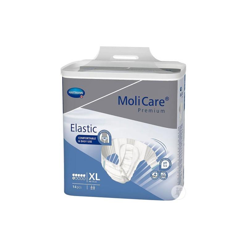 Molicare Premium Elastic taille XL 6 gouttes www.vivamedical.be