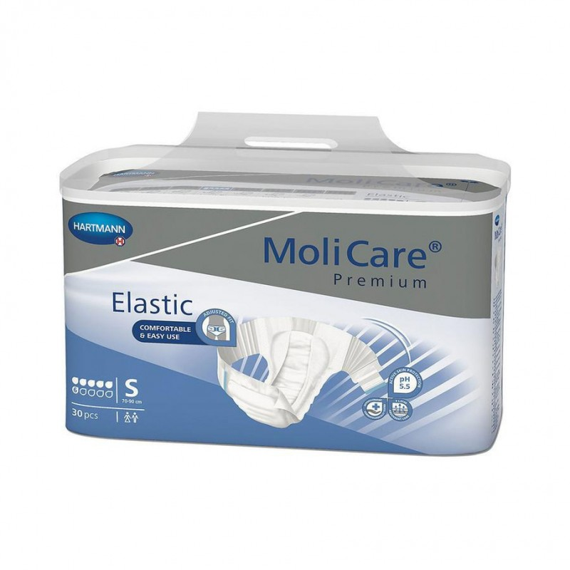 Molicare Premium Elastic taille Small 6 gouttes www.vivamedical.be