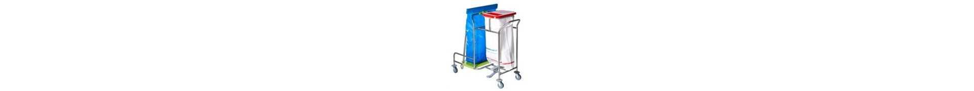 Supports sacs poubelle/linge