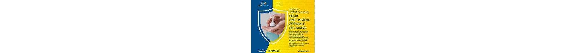 Catégorie Désinfection des mains - Gel désinfectant - pas cher : Gel désinfectant anti-virus pour les mains 500 ml , Gel hydr...